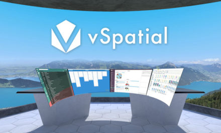 'vSpatial' available on Oculus quest