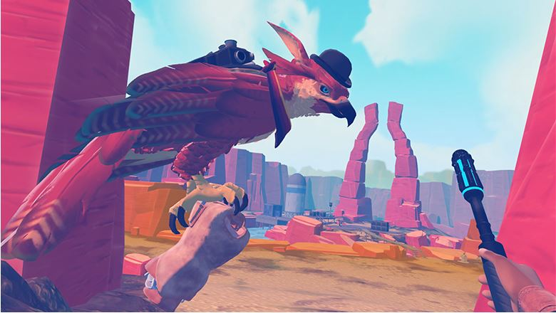 Falcon Age :- You will get Action in this game by Oculus